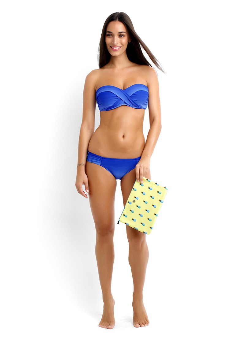 Miami Bandeau & Ruched Side Pant