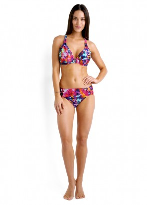 Party Scene F Cup Halter & Ruched Side Retro Pant
