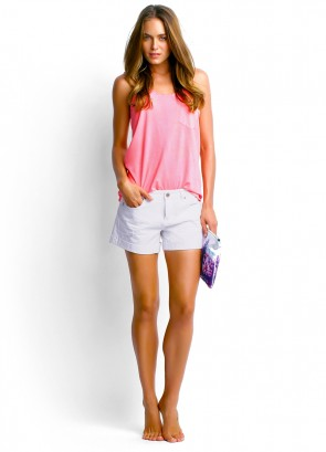 Scoop Singlet & Candy Denim Short