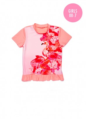 Flamingo Road Sunvest Set