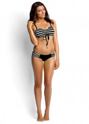 Mod Club DD Bandeau Bustier and Ruched Side Pant