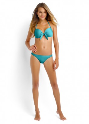 Shimmer Tie Front Booster & Brazilian Pant