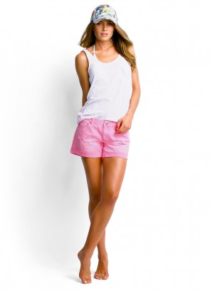 Scoop Singlet and Candy Denim Short